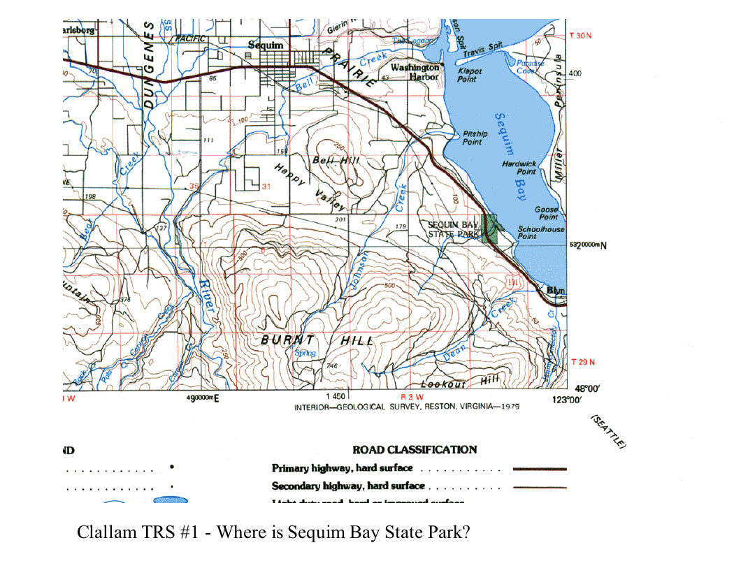 Clallam County Maps on