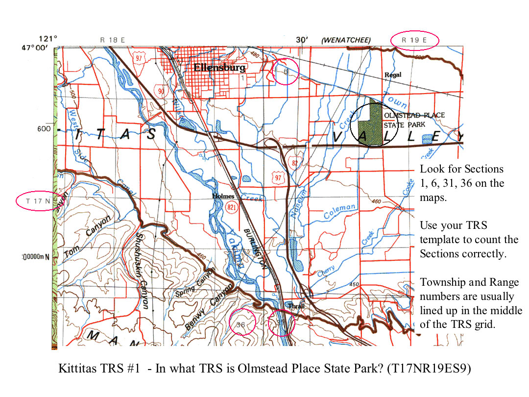 NatureMapping Learning Protocols  Mapping Practice for Kittitas County