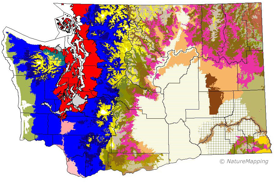 NatureMapping: Ecozones of Washington State